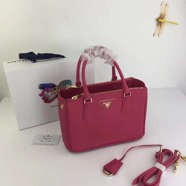 Prada Galleria Small Saffiano Leather Bag BN2316 rose
