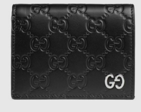 Gucci Signature card case 522869 black