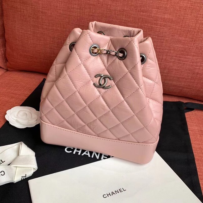 Chanel gabrielle backpack A94501 light pink