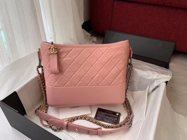 Chanel gabrielle hobo bag A93824 pink