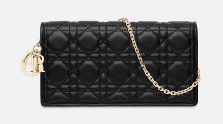LADY DIOR-CLUTCH VAN LAMSLEER S0204 black