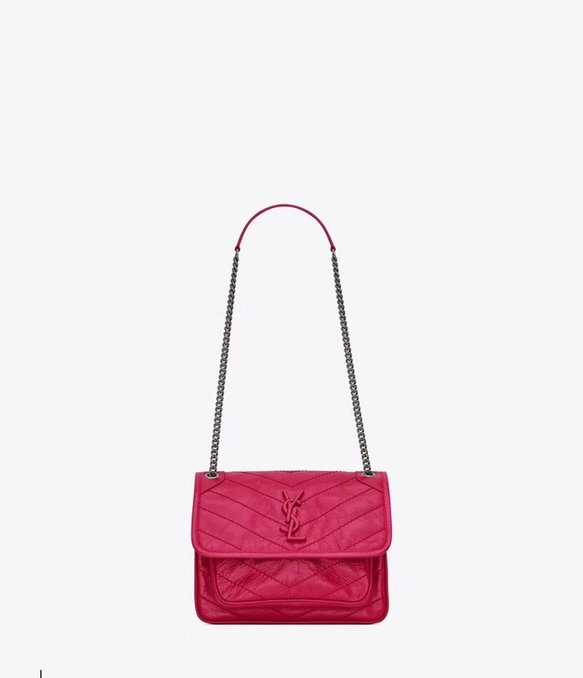 Yves Saint Laurent MINI Niki Chain Bag 498893 rose