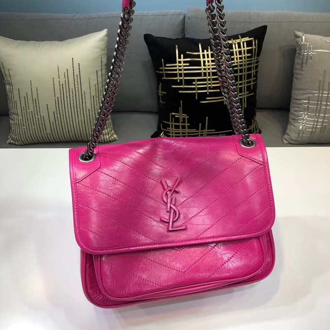Yves Saint Laurent Medium Niki Chain Bag 498894 rose