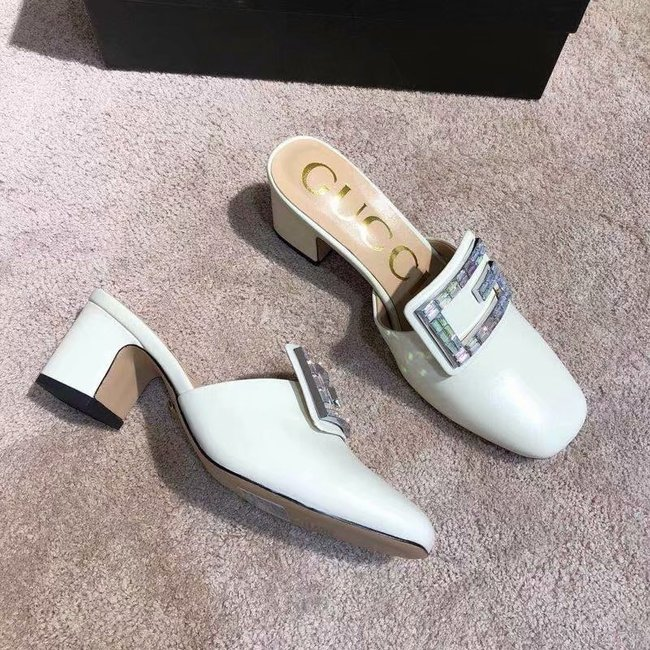Gucci slide with crystal G GG1471BL-5