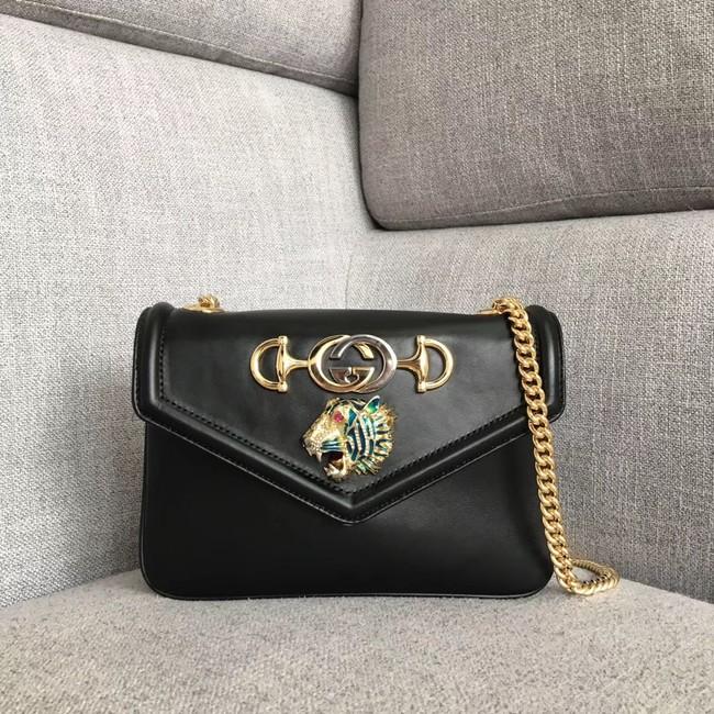b1b0ea397431 Gucci Rajah small shoulder bag 537243 black