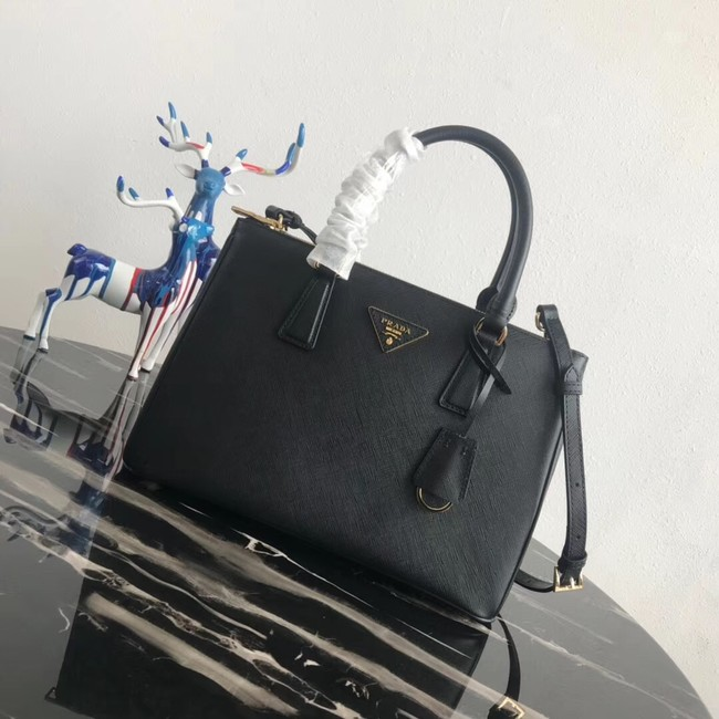 Prada Saffiano original Leather Tote Bag 1BA1801 black