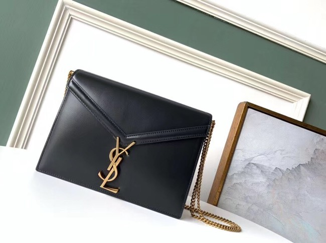 SAINT LAURENT Cassandra leather shoulder bag 532750 black