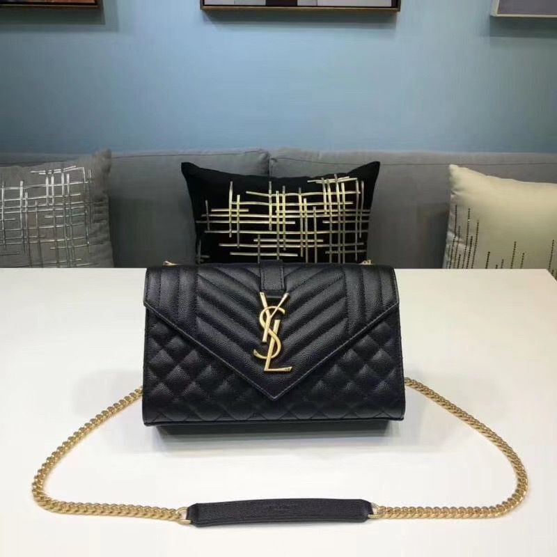 Yves Saint Laurent Envelope Mini Classic Bag 526286 Black