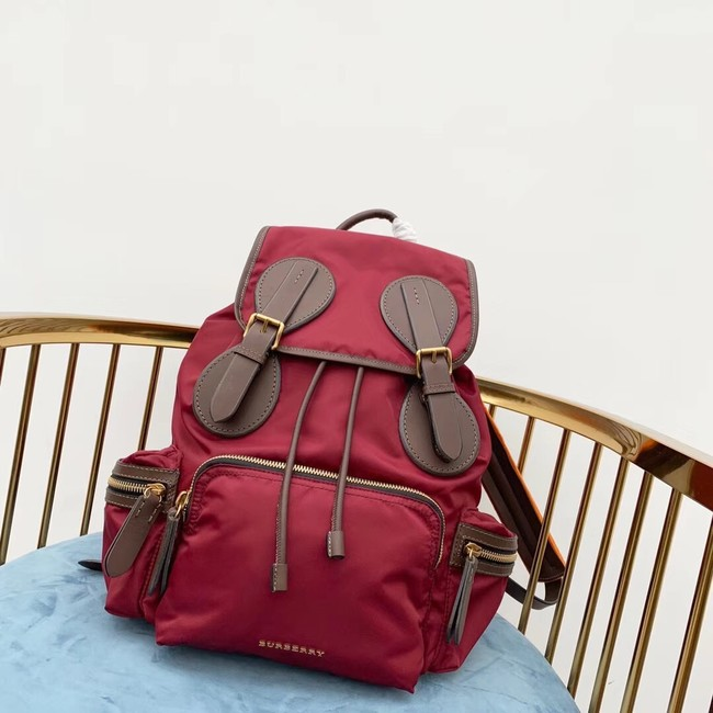Burberry Large Backpack Fabric BU3699 red