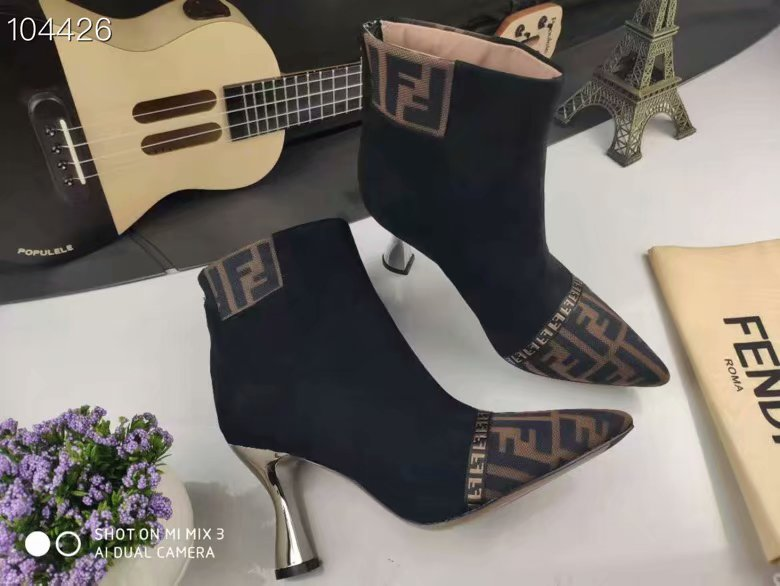 Fendi Short boots FD230TMC-1 Heel height 9CM