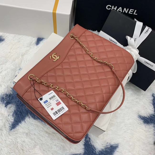 Chanel Original Lather Bag AS2784 pink